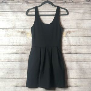 Aeropostale black pleated dress
